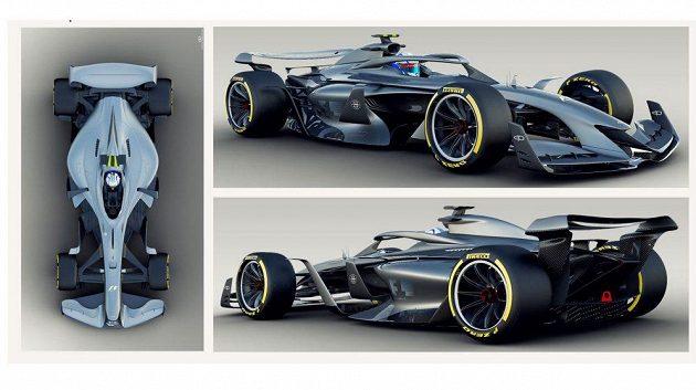 Třetí koncept Formule 1 pro rok 2021.