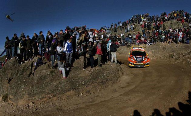Martin Prokop s Fordem Fiesta WRC na trati Rallye Argentina 2015.