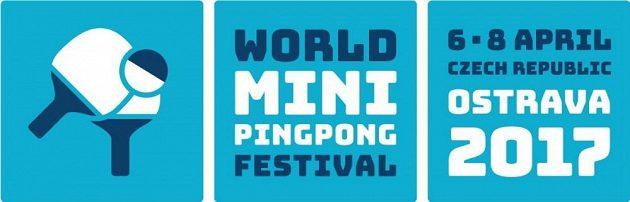 Logo minipingpongového festivalu v Ostravě