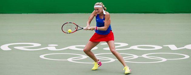 Petra Kvitová v Riu zvítětila nad Maďarkou Timeou Babosovou.