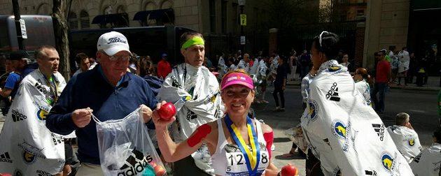 V Bostonu mají na maratónu pověstná jablka.