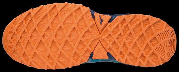 Trailové běžecké boty Mizuno Wave Ibuki - detail podrážky.