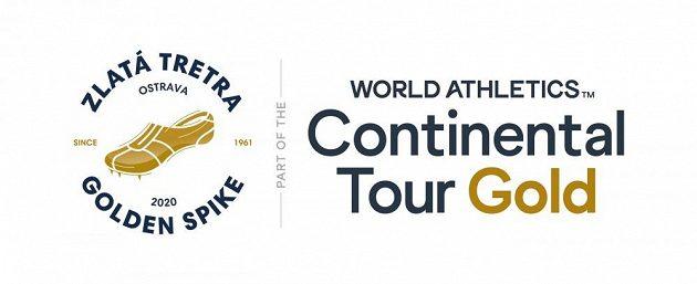 Logo atletického mítinku Zlatá tretra 2020.