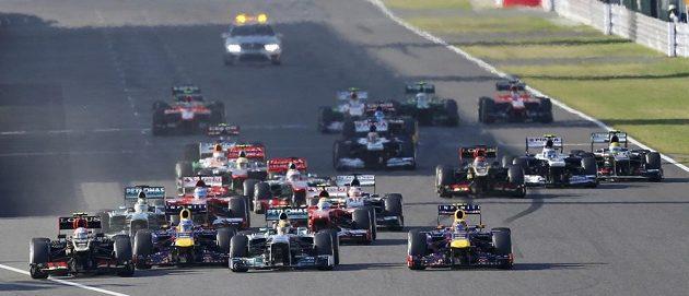 Start se nejlépe povedl Romainu Grosjeanovi.