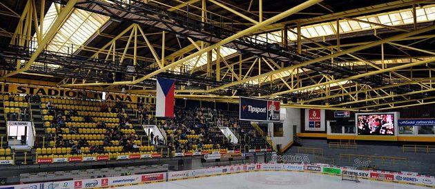 Fanoušci Litvínova poprvé v historii klubu sledovali první finálový zápas extraligy přímo zimním stadiónu Ivana Hlinky.