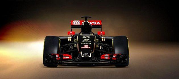 Nový monopost stáje Lotus se vyznačuje přepracovaným designem nosu.