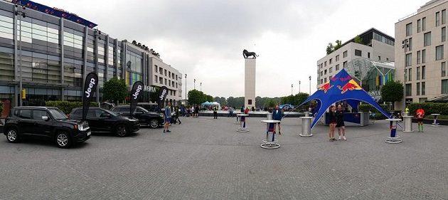 Wings For Life: Bratislavské náměstí, kde všechno začíná i končí.