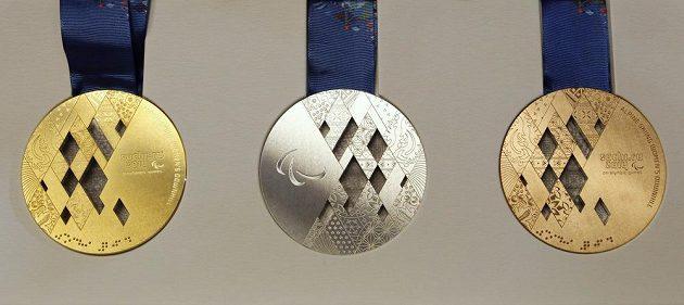 Medaile pro úspěšné paralympiky v Soči