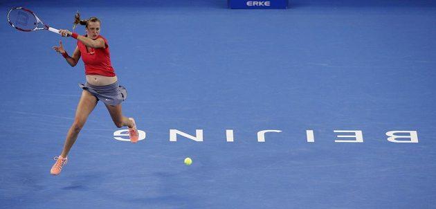Tenistka Petra Kvitová na turnaji v Pekingu