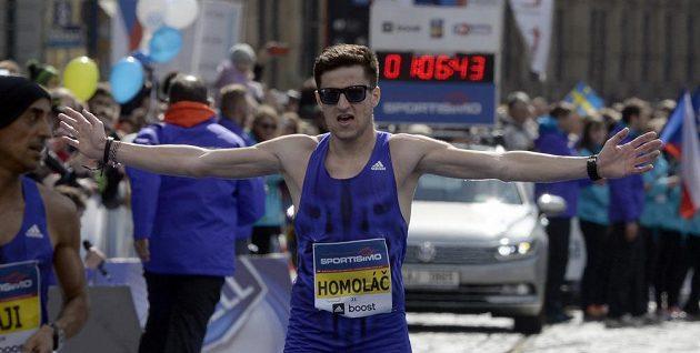Jiří Homoláč se stal nejlepším českým závodníkem v sedmnáctém ročníku Pražského půlmaratonu.