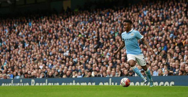Raheem Sterling z Manchesteru City se blýskl hattrickem proti Bournemouthu.