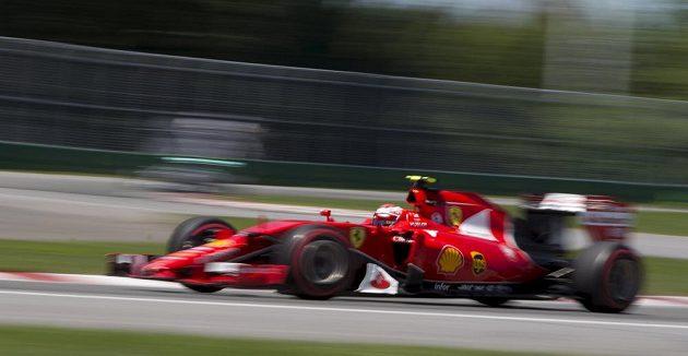 Fin Kimi Räikkönen obsadil v kvalifikaci na Velkou cenu Kanady třetí místo.