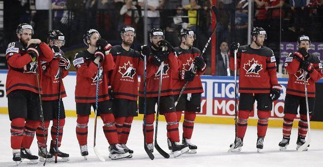 Smutek, Kanada projela zápas se Švýcarskem. Vedla 2:0, prohrála 2:3 v prodloužení.