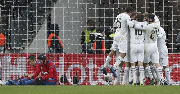 Plzeňská radost v Lužnikách. Fotbalisté Viktorie vyhráli v Lize mistrů na půdě CSKA Moskva 2:1.