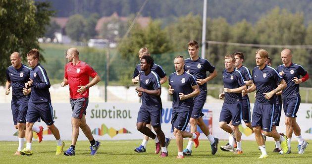 Fotbalisté Sparty se připravují v Brunecku na nový soutěžní ročník.