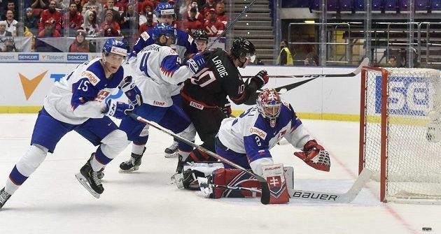 Slovenští hokejisté neměli proti Kanadě ve čtvrtfinále MS šanci