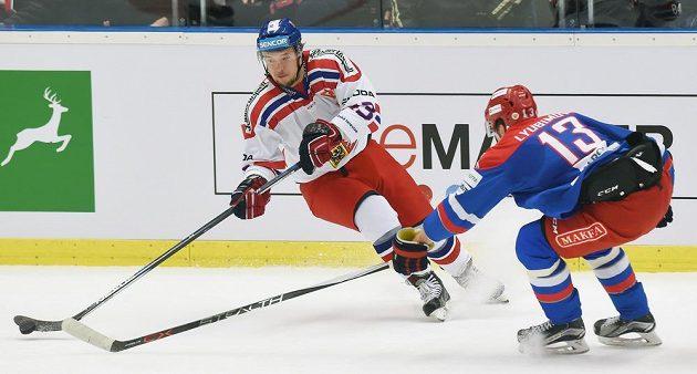 Zleva Jan Kovář z Česka a Roman Ljubimov z Ruska.