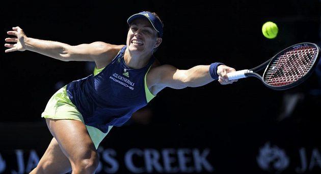 Angelique Kerberové se na Australian Open daří.