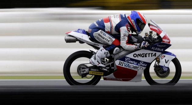 Francouz Alexis Masbou, vítěz brněnského závodu Moto3.
