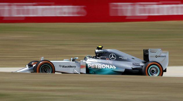 Německý pilot ze stáje Mercedes Nico Rosberg obsadil v kvalifikaci na VC Španělska druhé místo.