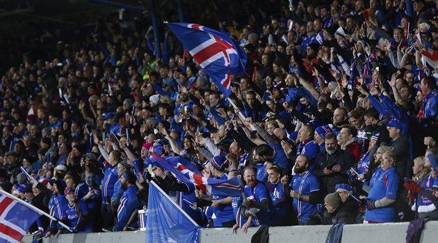 Radost fanoušků Islandu po historickém postupu na MS.