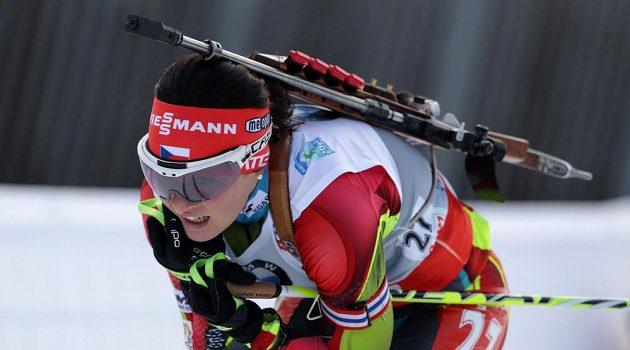 Veronika Vítková obsadila v Ruhpoldingu skvělé třetí místo.