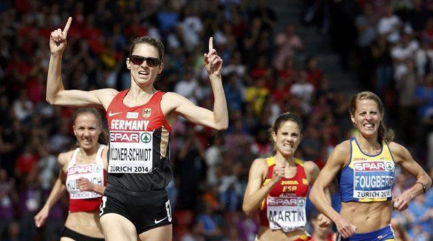 Möldner-Schmidtová porazila rakovinu, v Curychu si pak doběhla pro zlato v závodu na 3000 metrů překážek.