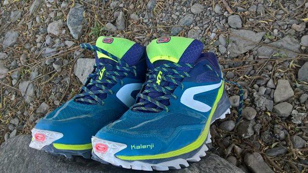 Kalenji Kiprun Trail XT5. V terénu se s nimi neztratíte.