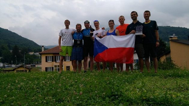 Scenic Trail - část české výpravy.