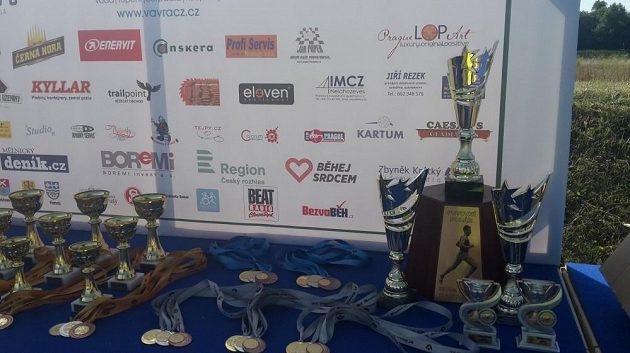 Letos poprvé se běželo o Putovní pohár MUDr. Pavla Kantorka.