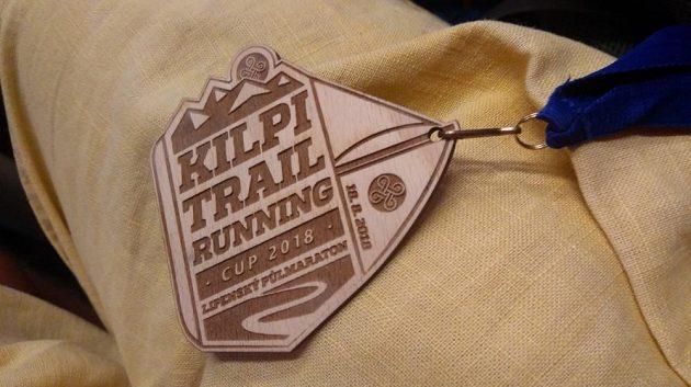 KTRC Lipenský půlmaraton – účastnická medaile.