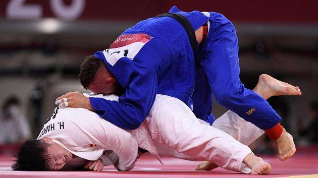 Judista Lukáš Krpálek porazil v semifinále Japonce Hisajošiho Harasawu