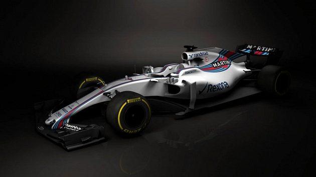 Nový monopost týmu Williams FW 40.