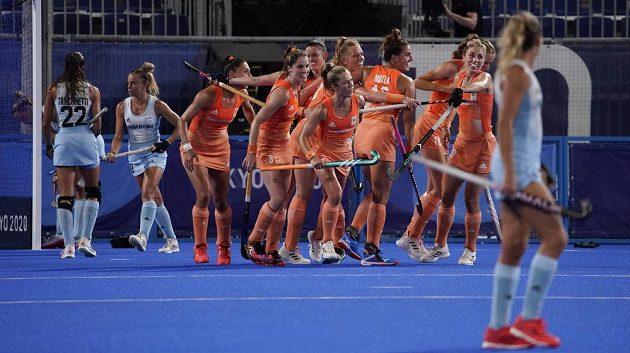 Nizozemské pozemní hokejistky získaly rekordní čtvrtou zlatou medaili.