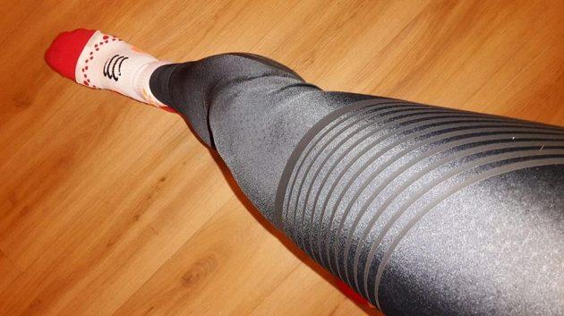 Nike Power Speed Tight: Kompresní pásky navíc dotvářejí netradiční design kalhot.