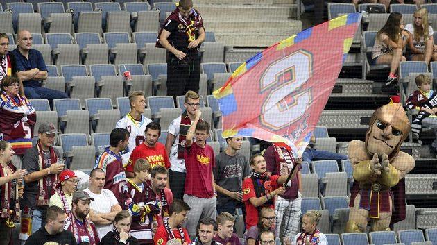 Do hlediště O2 areny dorazilo na zápas se Storhamarem 2948 diváků.
