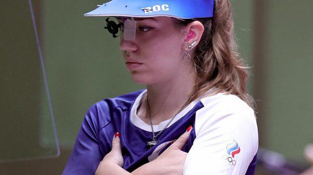 Ruská střelkyně Vitalina Bacaraškinová