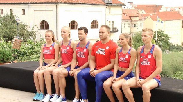 Atleti představili dresy pro olympijské hry v Riu.
