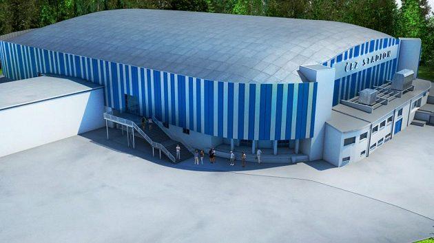 Vizualizace nového stadionu hokejistů Kladna