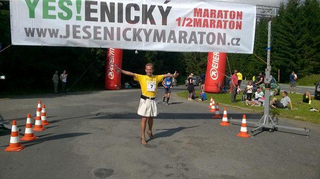 Jesenický maratón: YES, jsem v cíli!