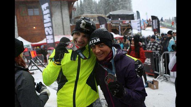 Kateřina Kyptová a zimní běžecké dobrodružství na Spartan race.
