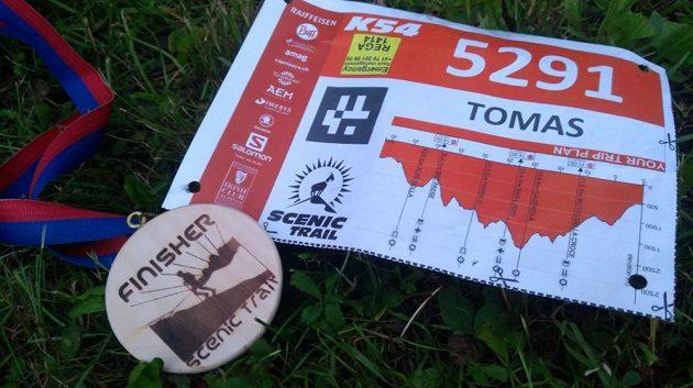 Scenic Trail - finisherská medaile nebyla jedinou odměnou.