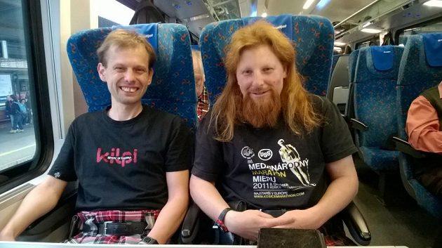 Vienna City Marathon: Cesta vlakem ještě bez kroužkové zbroje.