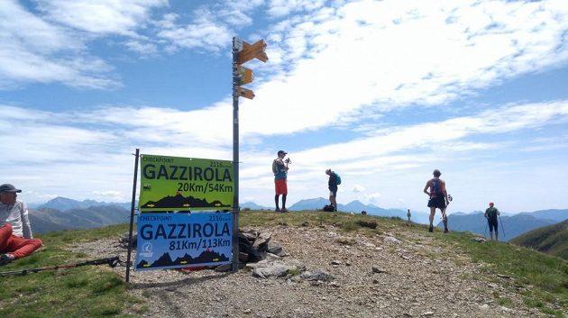 Scenic Trail - na jednom z vrcholů.