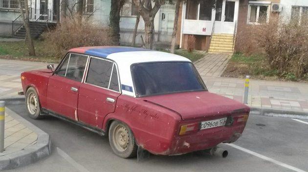 Žigul v ulicích Krasnodaru