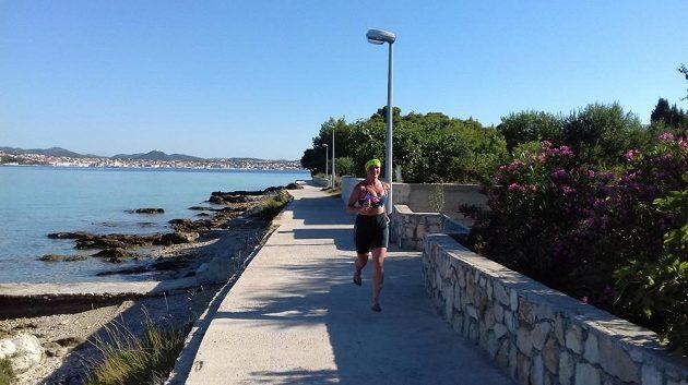 Chorvatsko je jako stvořené pro běžeckou dovolenou.