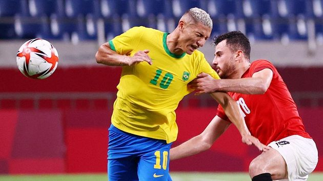 Fotbalisté Brazílie si poradili s Egyptem