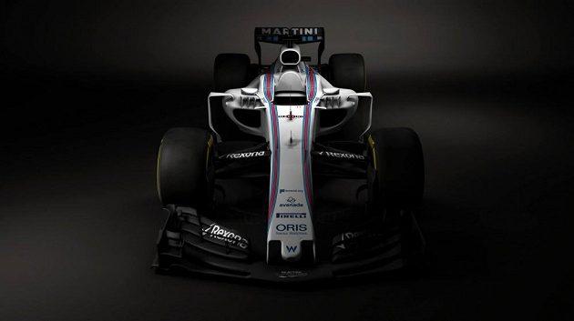 Nový vůz Williamsu FW 40.