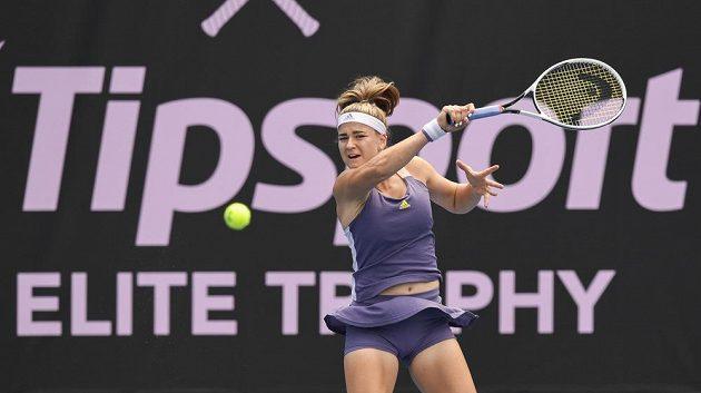 Karolína Muchová zajistila na Tipsport Elite Trophy v Praze svému týmu první bod.