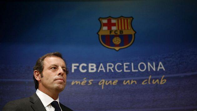 Sandro Rosell už není prezidentem FC Barcelona.
